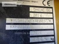 CATERPILLAR TELEHANDLER TH414C equipment  photo 7
