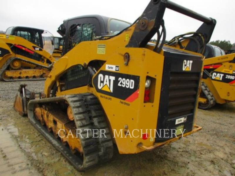 CATERPILLAR SKID STEER LOADERS 299D ACHF equipment  photo 3