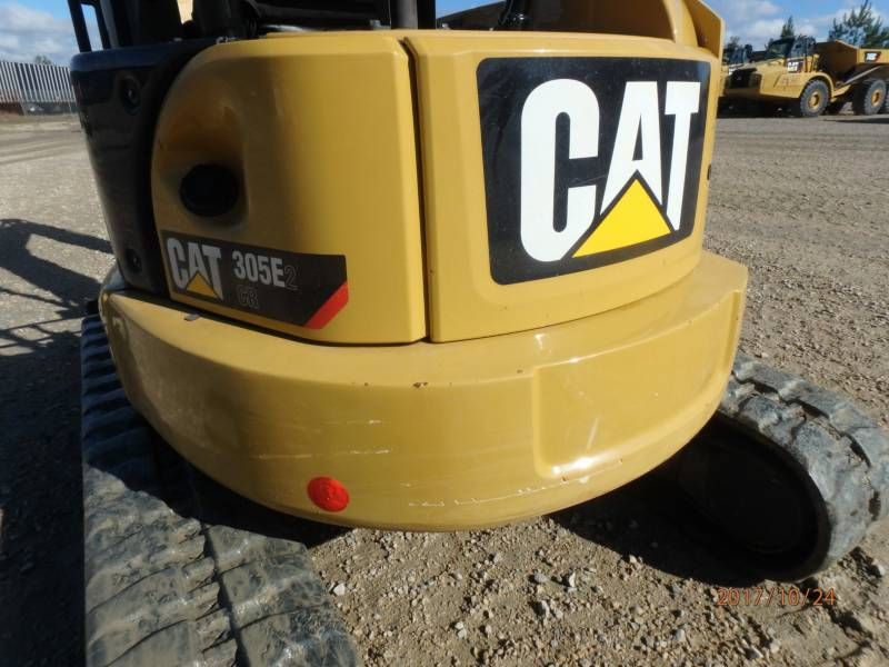 CATERPILLAR KETTEN-HYDRAULIKBAGGER 305E2CR equipment  photo 24
