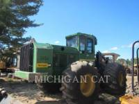 JOHN DEERE FORESTRY - FELLER BUNCHERS - WHEEL 843J WFELLER equipment  photo 3