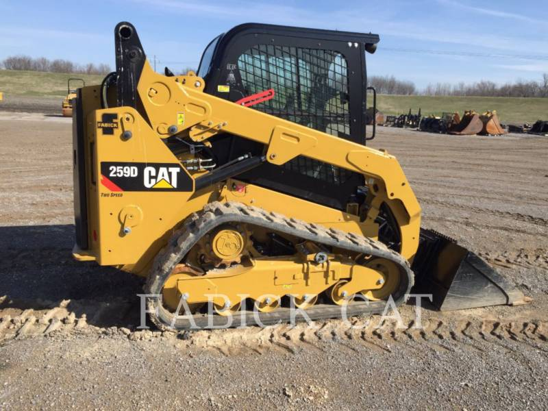 CATERPILLAR CARGADORES MULTITERRENO 259D ASP equipment  photo 1
