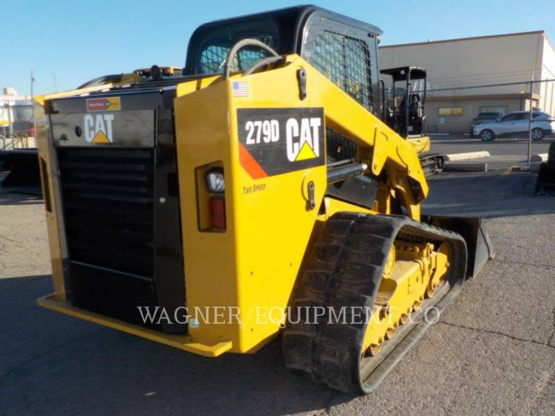 CATERPILLAR MINICARGADORAS 279D equipment  photo 3