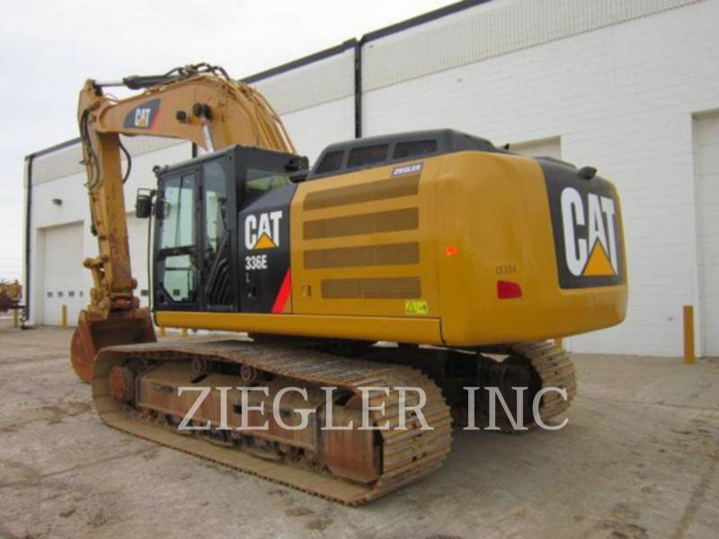 CATERPILLAR TRACK EXCAVATORS 336ELH2 equipment  photo 5