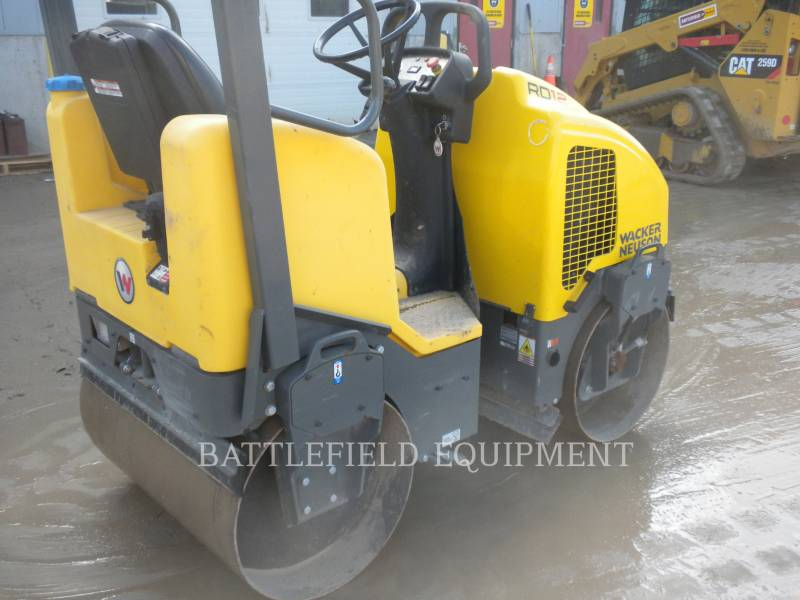 WACKER CORPORATION TANDEMOWY WALEC WIBRACYJNY DO ASFALTU (STAL-STAL) RD12A equipment  photo 4