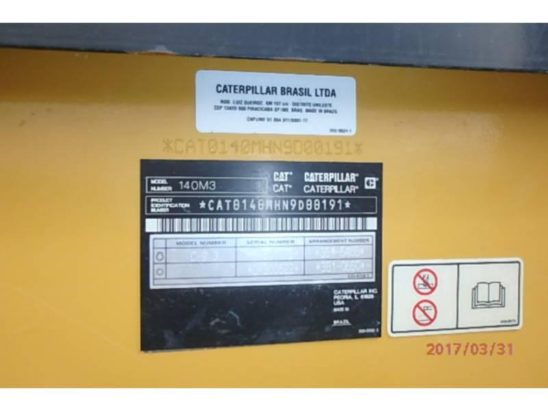 CATERPILLAR MOTONIVELADORAS 140M3 equipment  photo 19