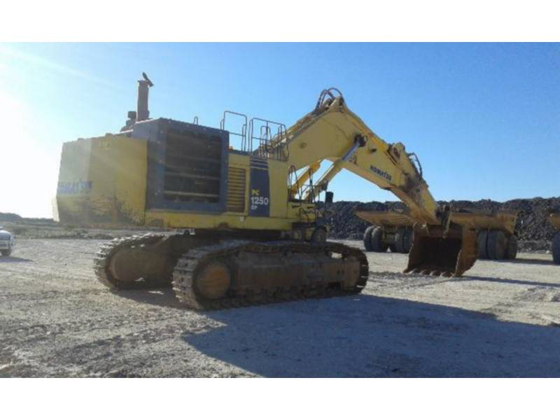 KOMATSU LTD. KETTEN-HYDRAULIKBAGGER PC1250-8R equipment  photo 2