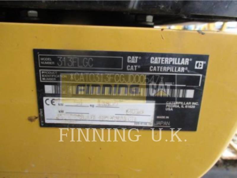 CATERPILLAR KETTEN-HYDRAULIKBAGGER 313FLGC equipment  photo 5