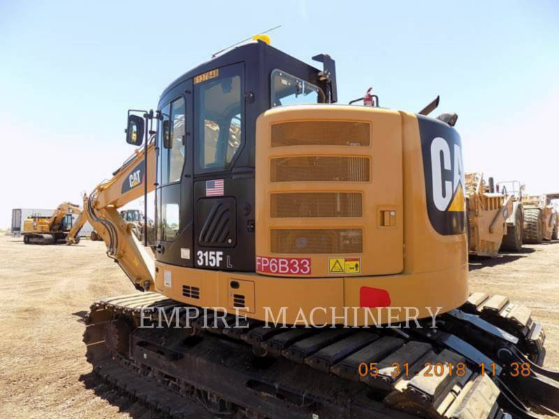 CATERPILLAR KETTEN-HYDRAULIKBAGGER 315FLCR equipment  photo 3