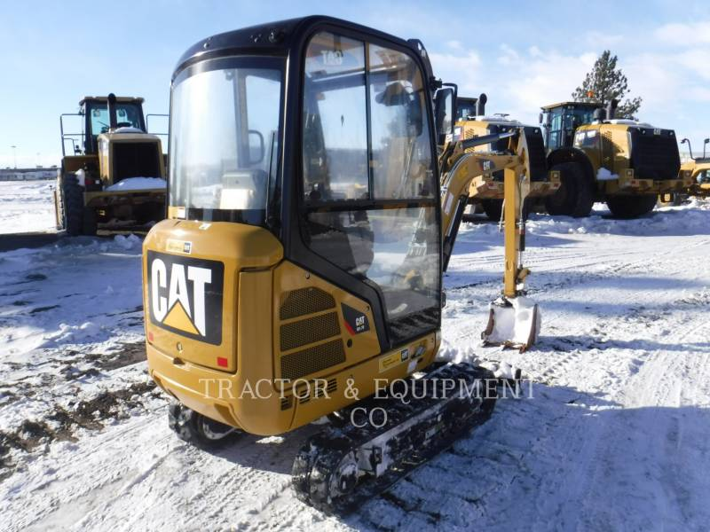 CATERPILLAR PELLES SUR CHAINES 301.7D CB equipment  photo 3