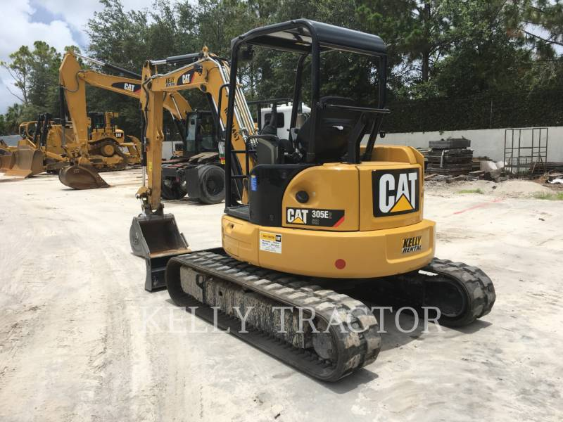 CATERPILLAR TRACK EXCAVATORS 305E2CR equipment  photo 3