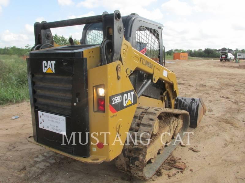 CATERPILLAR MINICARGADORAS 259D equipment  photo 8