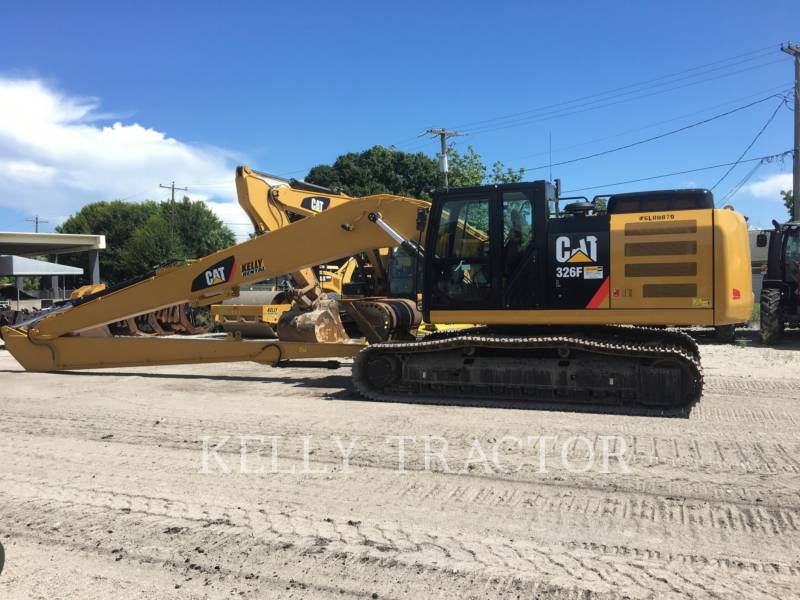 CATERPILLAR TRACK EXCAVATORS 326FL equipment  photo 6