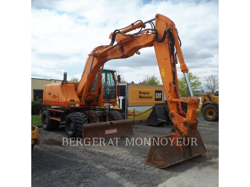 CASE PELLES SUR PNEUS WX165 equipment  photo 1