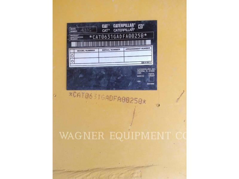 CATERPILLAR WATER WAGONS 631G WW equipment  photo 7