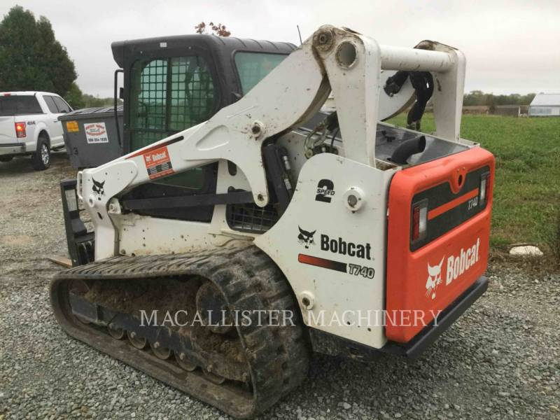 BOBCAT CARGADORES DE CADENAS T740 equipment  photo 4