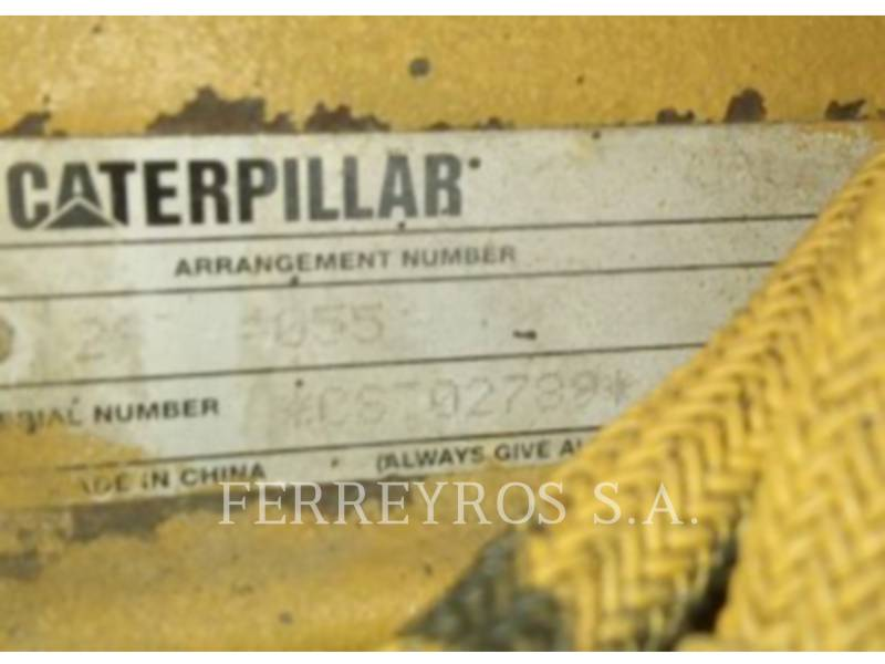 CATERPILLAR COMPATTATORE A SINGOLO TAMBURO VIBRANTE LISCIO CS-533E equipment  photo 10