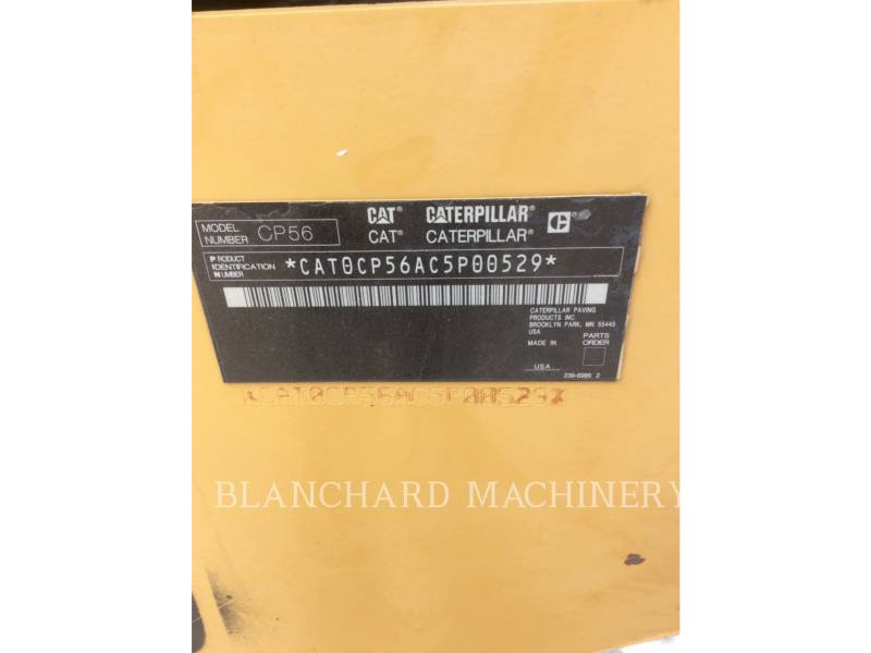 CATERPILLAR EINZELVIBRATIONSWALZE, BANDAGE CP56 equipment  photo 11