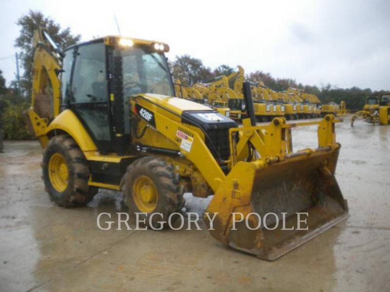 CATERPILLAR BACKHOE LOADERS 420F equipment  photo 3