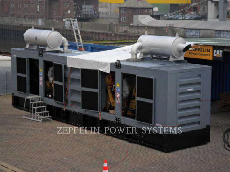 CATERPILLAR PORTABLE GENERATOR SETS PPO2000 - C32 TWIN equipment  photo 1