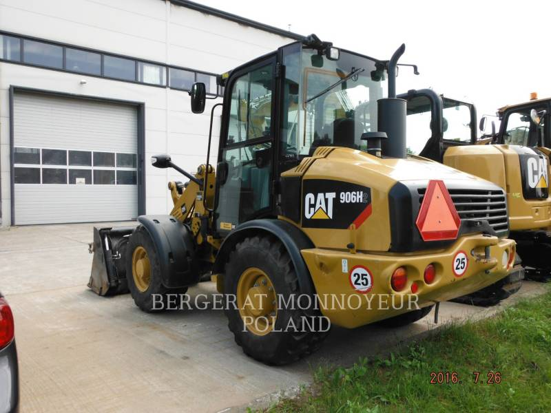 CATERPILLAR RADLADER/INDUSTRIE-RADLADER 906 H2 equipment  photo 4