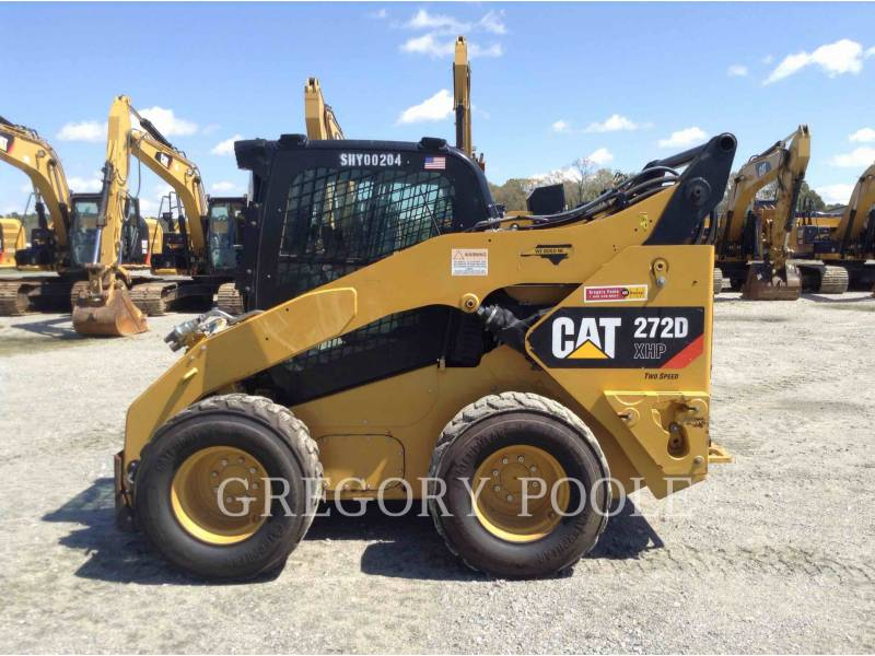 CATERPILLAR MINICARGADORAS 272D XHP equipment  photo 8