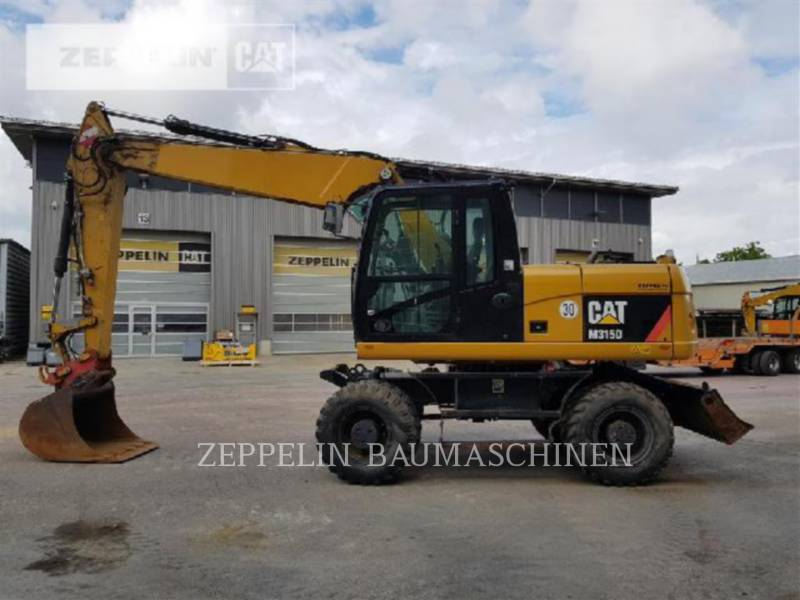 CATERPILLAR ESCAVATORI GOMMATI M315D equipment  photo 1