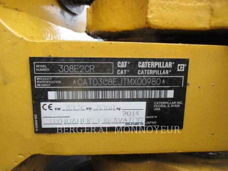 CATERPILLAR PELLES SUR CHAINES 308E2CR SB equipment  photo 8