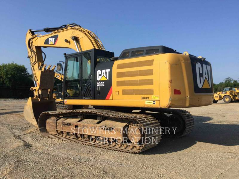 CATERPILLAR EXCAVADORAS DE CADENAS 336E THUMB equipment  photo 2