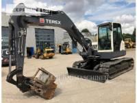 Equipment photo TEREX CORPORATION TC125 TRACK EXCAVATORS 1