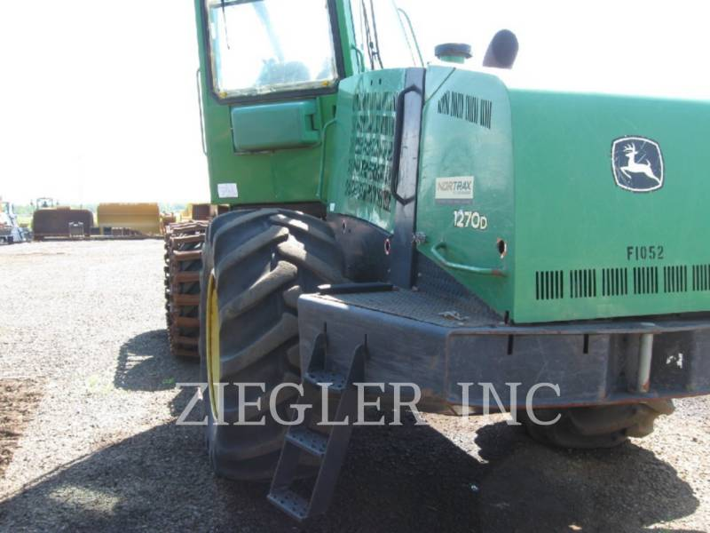 DEERE & CO. FORESTRY - PROCESSOR 1270D equipment  photo 2