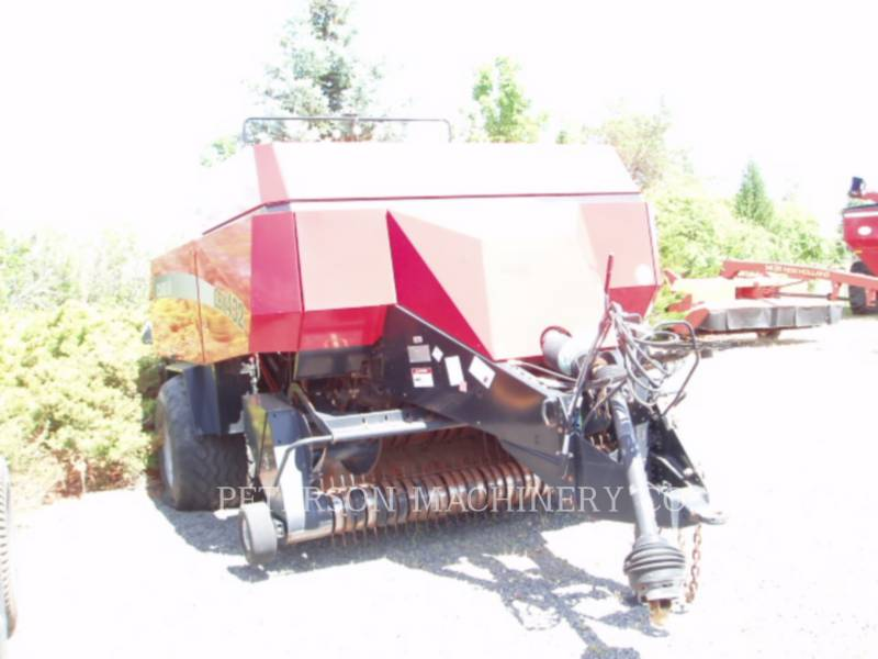 CASE MATERIELS AGRICOLES POUR LE FOIN LBX432 equipment  photo 6