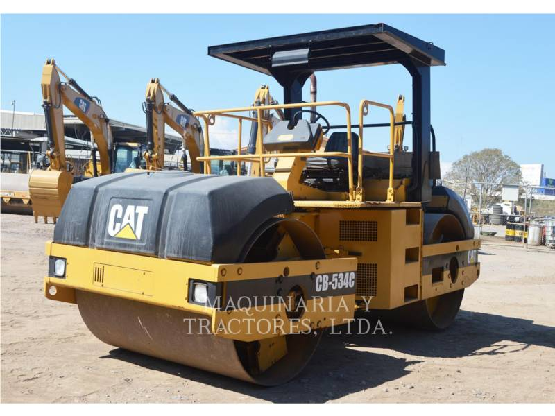 CATERPILLAR TANDEMOWY WALEC WIBRACYJNY DO ASFALTU (STAL-STAL) CB-534C equipment  photo 3