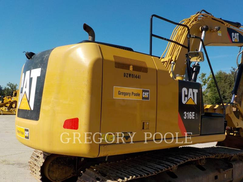 CATERPILLAR TRACK EXCAVATORS 316E L equipment  photo 11