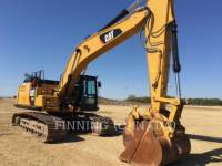 Equipment photo CATERPILLAR 329FL トラック油圧ショベル 1