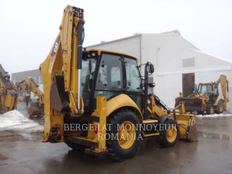 CATERPILLAR CHARGEUSES-PELLETEUSES 428 F equipment  photo 3