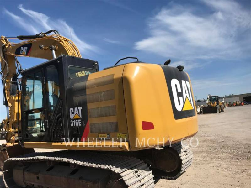 Caterpillar EXCAVATOARE PE ŞENILE 316E L THM equipment  photo 6