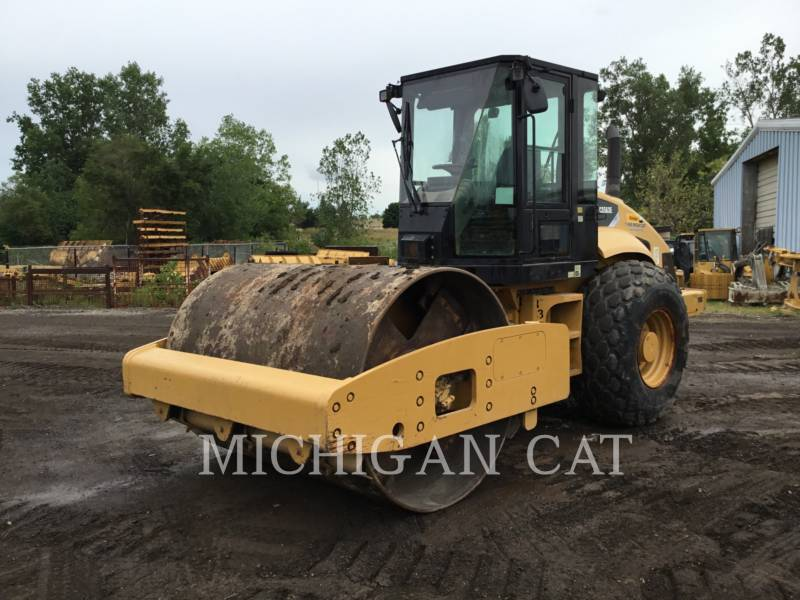 CATERPILLAR VIBRATORY SINGLE DRUM SMOOTH CS-563E equipment  photo 1