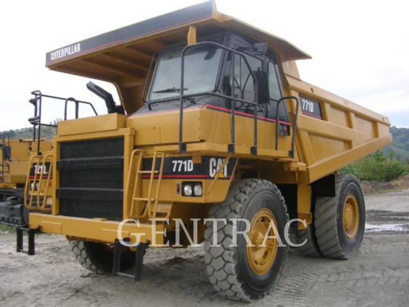 CATERPILLAR OFF HIGHWAY TRUCKS 771D equipment  photo 2
