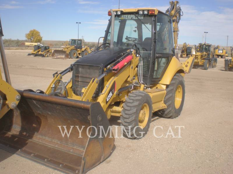 CATERPILLAR BAGGERLADER 420E IT equipment  photo 1