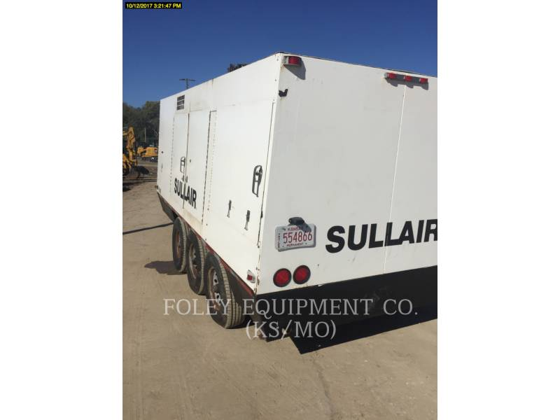 SULLAIR AIR COMPRESSOR (OBS) 1150XHA equipment  photo 3