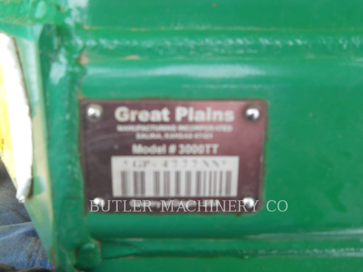 Detail photo of 2011 GREAT PLAINS 3000TT from Construction Equipment Guide