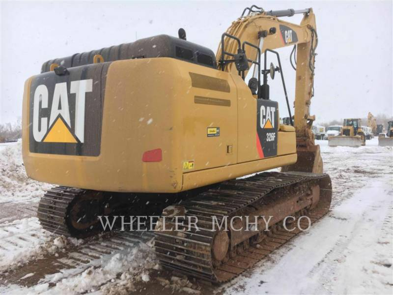 CATERPILLAR EXCAVADORAS DE CADENAS 326F L CF equipment  photo 1