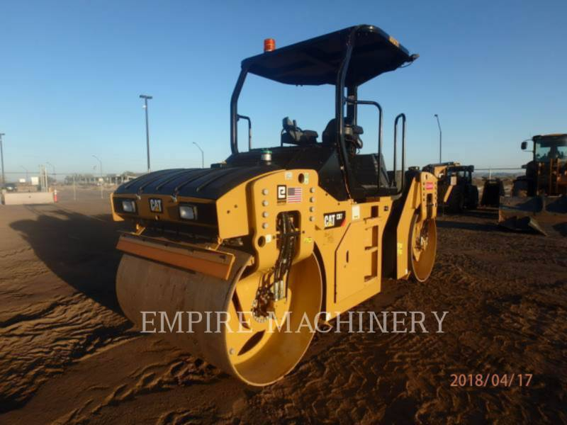 CATERPILLAR VIBRATORY DOUBLE DRUM ASPHALT CB7 equipment  photo 4