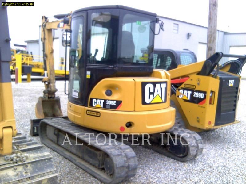 CATERPILLAR PELLES SUR CHAINES 305E CR equipment  photo 3