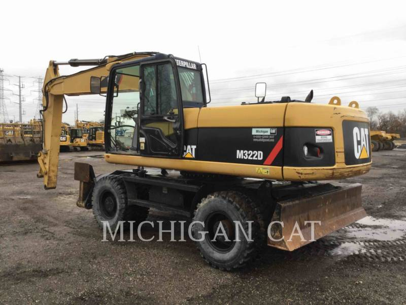 CATERPILLAR PELLES SUR PNEUS M322D equipment  photo 4