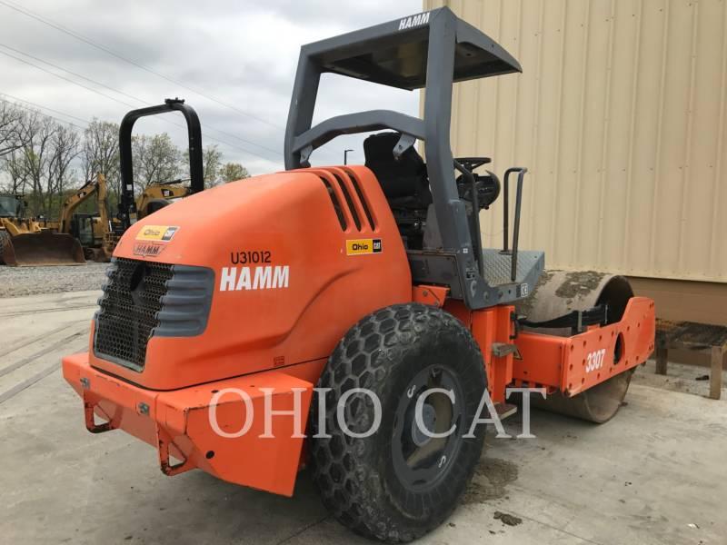 HAMM COMBINATION ROLLERS 3307 equipment  photo 3