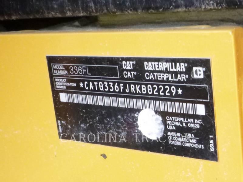 Caterpillar EXCAVATOARE PE ŞENILE 336F equipment  photo 7