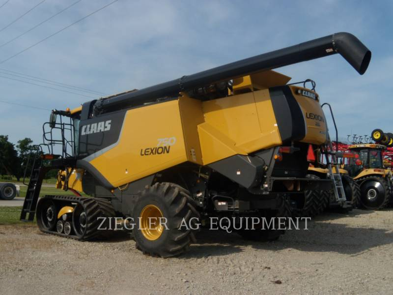 LEXION COMBINE COMBINÉS 750TT equipment  photo 5