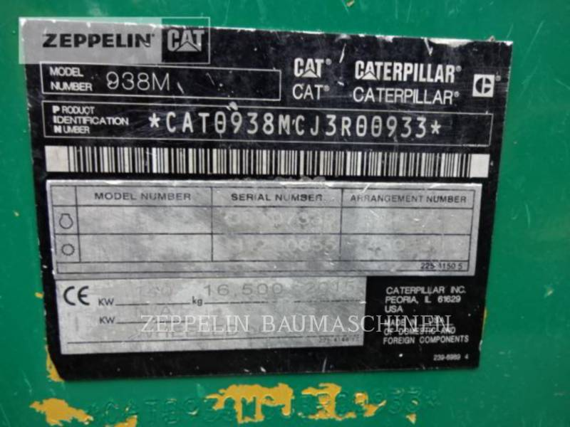 CATERPILLAR ホイール・ローダ/インテグレーテッド・ツールキャリヤ 938M equipment  photo 20