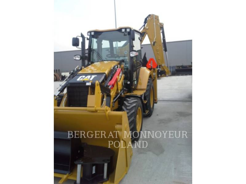 CATERPILLAR BAGGERLADER 428F equipment  photo 6